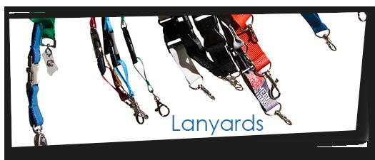 Lanyards um sich Plastikkarten um den Hals zu hängen